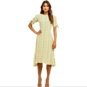 Faithfull the Brand Emilia Luda Floral Midi Dress